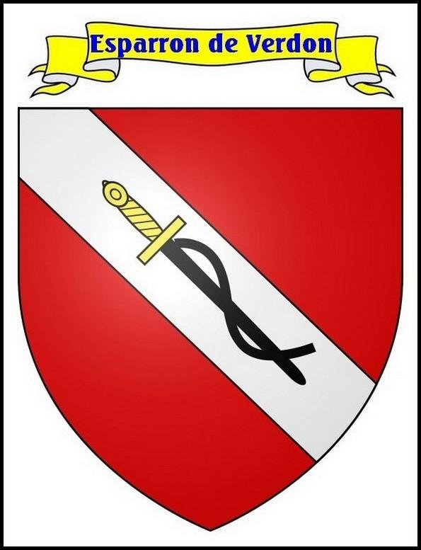 Blason d'Esparron-de-Verdon