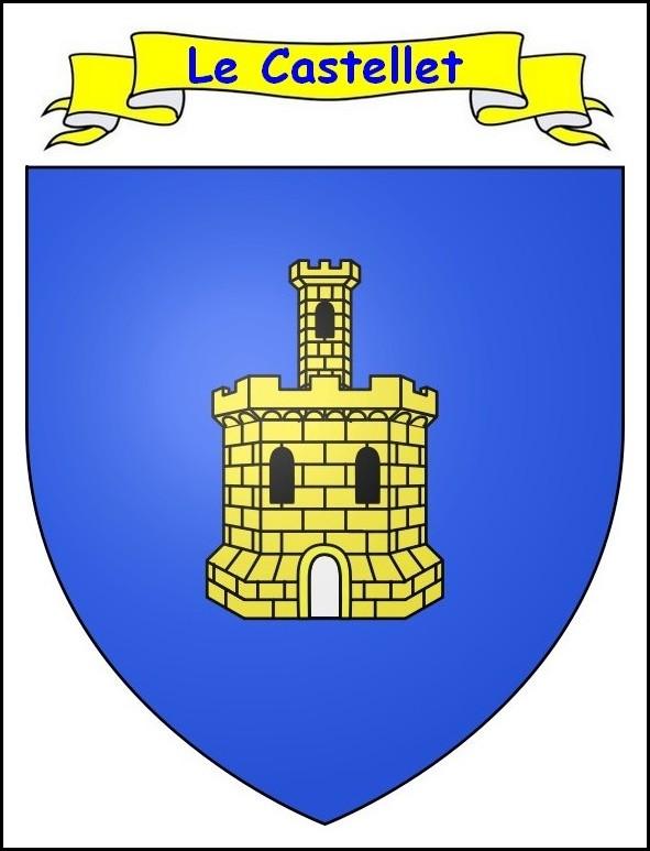 Blason LeCastellet
